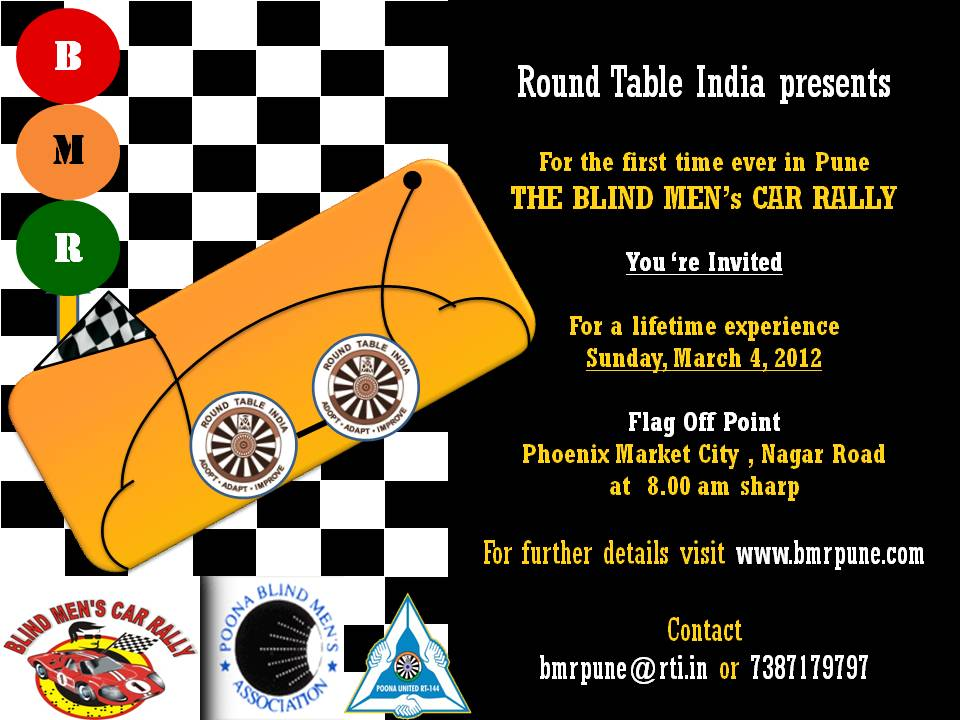 Invitation Bmr Pune Round Table India Blog