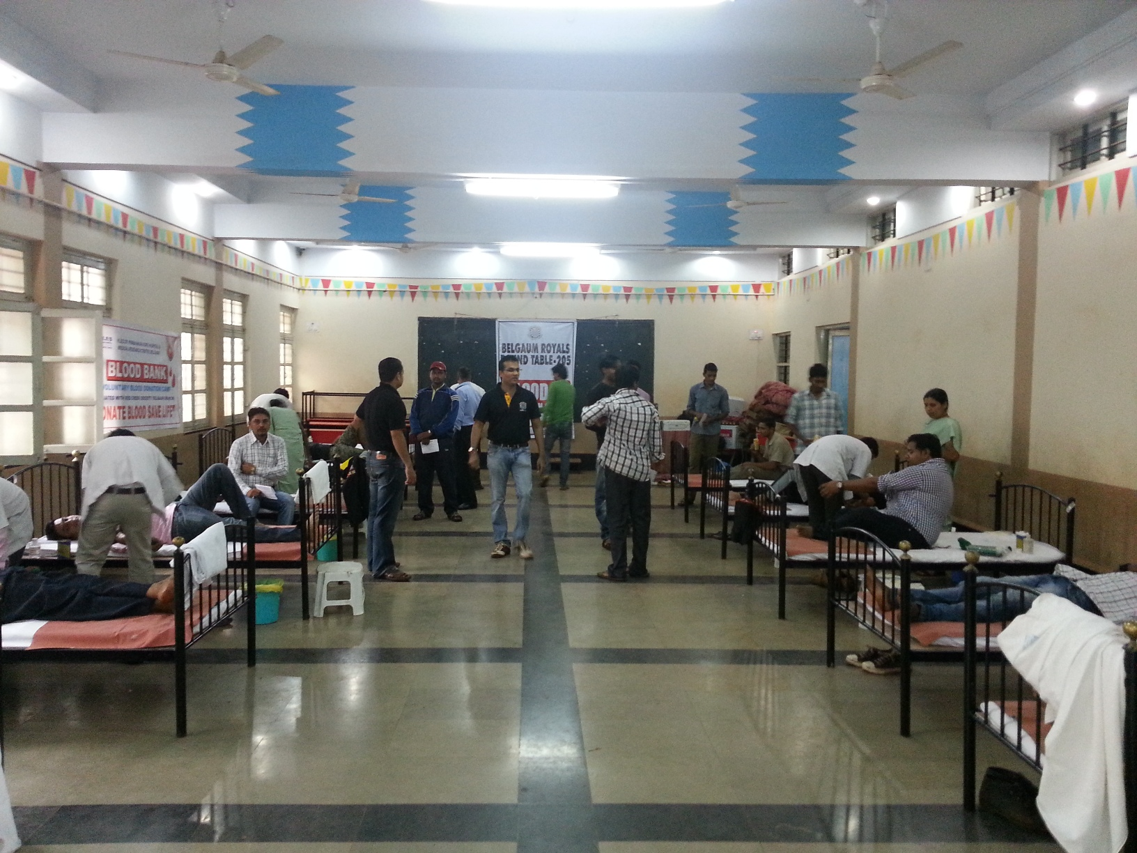 Belgaum Round Table 205 Blood Donation Camp Round Table India Blogs