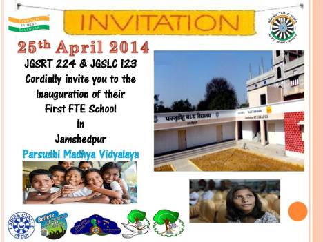 Invitation FTE School 1